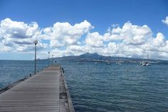 Le ponton de l'Anse à l'Ane - Photo: Olivier