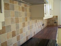 Revestimientos para la pared de la cocina