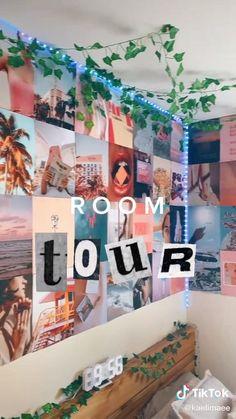 Indie Room Decor, Cute Bedroom Decor, Bedroom Decor For Teen Girls, Room Design Bedroom, Teen Room Decor, Stylish Bedroom, Room Ideas Bedroom, Pinterest Room Decor, Cozy Room