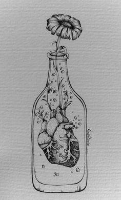 Heart in a bottle Mais More
