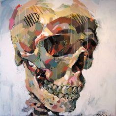 Crâne by Pascal Vilcollet