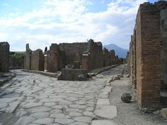Crossroads, Pompei, Italy. I loved it here. I had a dog friend that followed me around the whole time. :)