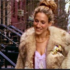 The Carrie Bradshaw ballerina bun.