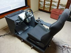 racing simulator chair plans girls computer 57 best cockpit diy images gaming flight basic plan since i ve left the overclocking scene sim has taken over as my hobby of choice m working on to upgrade rig
