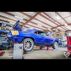 """GAP Racing on Instagram: """"The guys got Glen\'s Camaro fired up, brake system finished. Should see some dyno time in the very near future. @whipplesuperchargers #gap…"""""""