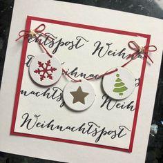 Karten-Kunst » Weihnachtspost-Girlande