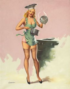 Kitchen pin up