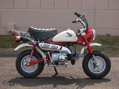 """New 2007 Honda """"Red"""" Monkey Z50 - RMD Motors"""