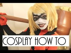 Cosplay How To: Harley Quinn Makeup Tutorial - YouTube