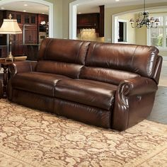 Features:  -Hardcastle collection.  -Darby Home Co mechanism and Okin motor.  -18 To 22 density foam giving superior, soft seating.  -Reclining headrest: Yes .  -Upholstery material: Leather with matc