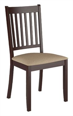 Atwood Dining Chair with Microfibre Seat - Beige | The Brick