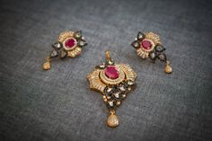 Camagādara   Inspired by the mysterious bat of the night silhouetted in 18k gold electroplating. Matching earring included.    Available at http://www.gvccustomgold.com