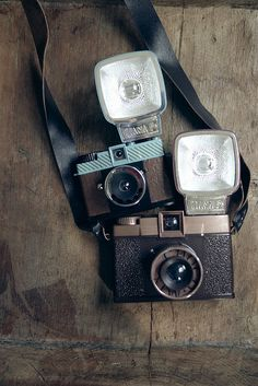 """madamesommersprosse: """" In the last time I use my diana again. So I'm very excited how the photos will look. Antique Cameras, Vintage Cameras, Vintage Polaroid Camera, 35mm Camera, Camera Gear, Camera Nikon, Diana, Cute Camera, Small Camera"""