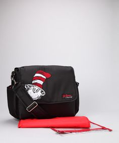 Black Cat in the Hat Messenger Bag from the Dr. Seuss Boutique on #zulily