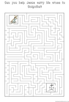 Worksheet Sunday School Worksheets For Youth maze search and sunday school on pinterest easter activity worksheet