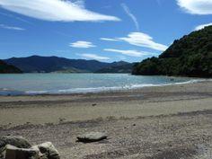 New Zealand, Malborough Sound.