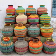 What's Trending? Baskets! | African Prints in Fashion