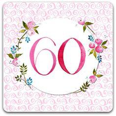 Carte d anniversaire aude pinterest scrap - Carte anniversaire 60 ans femme gratuite ...