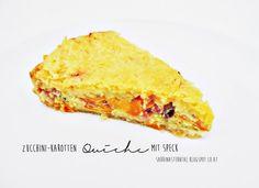 [FOOD] Zucchini-Karotten Quiche mit Speck – Starlights in the Kitchen