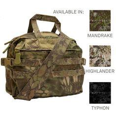 Mission Go Bag Limited Edition Kryptek Morale Patch, Go Bags, Shoulder Strap, Tech, Technology
