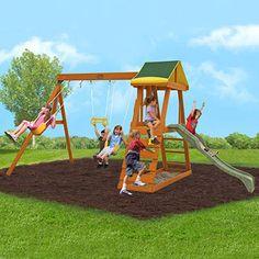 big backyard sandy cove wooden swing set instructions