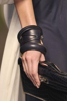 *fashion design, women apparel, accessories, leather* - Hermès Bangles