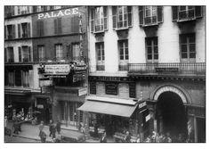 Le Palace Music Hall 1935 Le Palace, Paris, Street View, Culture, Night, Music, Places, Musica, Montmartre Paris