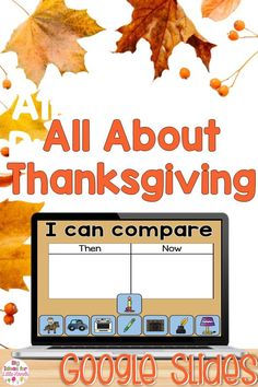 This fun digital Thanksgiving activity is perfect for teaching students the history of Thanksgiving! They will explore all about Thanksgiving, Pilgrims, and Native Americans in this fun, hands-on, interactive, digital Lapbook! From vocabulary, science, writing prompts and more, this Lapbook is ideal for PreK, Kindergarten, and First grade students. #thanksgiving #elementary