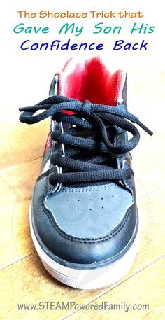 a97e23295 Shoelace Trick for kids Tying Shoes For Kids Teaching