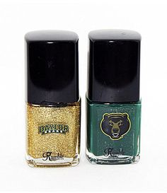 #Baylor Nail Polish from Rumble // #SicEm