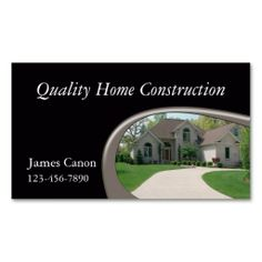 Handyman construction remodeling business cards construction home builder business card templates reheart Gallery
