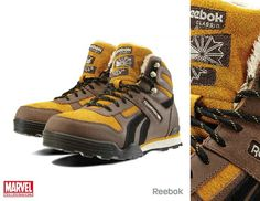 c3696d9d2319 Reebok has teamed with Marvel to release some awesome limited edition shoes.