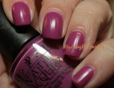 Confessions of a Sarcastic Mom: The one with OPI My Auntie Drinks Chianti!