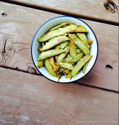 Homemade Snap Pea Chips & Mason Jar Salads