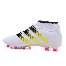 detailing 23128 2704a Salg Adidas ACE Fodboldstøvler - Billig Adidas ACE 16.1 Primeknit FG AG  Hvid LyseRød Fodboldstøvler