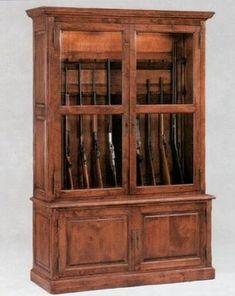 victorian gun cabinet