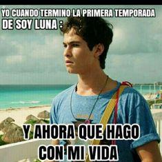 Acá vas a encontrar memes de soy Luna # 472 en humor 2/10/16 # 191… #detodo # De Todo # amreading # books # wattpad
