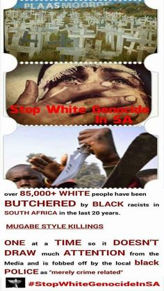 Know The Truth, White People, Human Trafficking, Live, South Africa, African, History, Farmers, Cry
