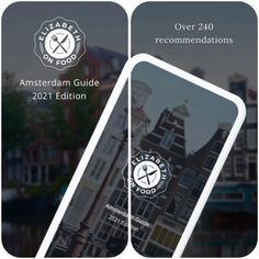 "Elizabeth Auerbach | Amsterdam on Instagram: ""I'm proud to announce that the Amsterdam Restaurant Guide 2021 is live! This app contains 240 food & drink recommendations divided into 24…"""