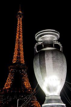 EURO 2016 Logo and Slogan Launch in Paris