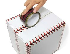 Baseball Stitches Design Tape W 48mm / Unique por DubuDumo