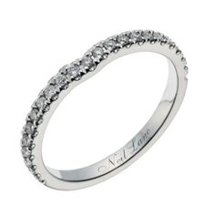 Neil Lane 14ct white gold 20 point diamond shaped ring - Ernest Jones