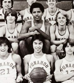 He got game President Barack Obama has always had a love for sports. As a student at Punahou High School in Hawaii, Obama played on the varsity basketball team. In fact, the Topps sports card company has made basketball trading cards of the 44th President.