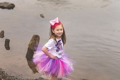 Having a rainbow birthday party? This is such a cute and whimisical tutu outfit. The rainbow tutu will will be the star of the show. Grab 10% off here --> http://eepurl.com/cUBjJj