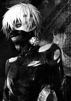 Autor del dibuix, data i lloc; Desconegut. Personatge Kaneki-ken del manga i anime Tokyo Ghoul. ♥ Té un estil sagnant i ciència ficció. sinopsi: Descrit a l'enllaç.