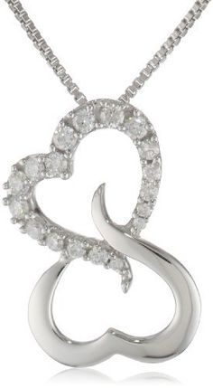 Sterling Silver Open Heart Diamond Pendant Necklace (1/5 cttw, H-I Color, I1-I2 Clarity), 18 Amazon Curated Collection,http://www.amazon.com/dp/B008VO4KC6/ref=cm_sw_r_pi_dp_vnbIrb0076114D86
