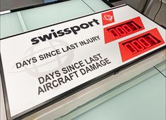 #digitalereclame #blsreclame #signing #swissport