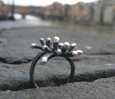 Coraline,Ring Coraline, Spring Time, Metallica, Cufflinks, Silver Rings, Engagement Rings, Jewels, Accessories, Witch