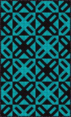 easy 2 color quilt patterns free | Two Color Quilt Pattern ... : two color quilts free patterns - Adamdwight.com