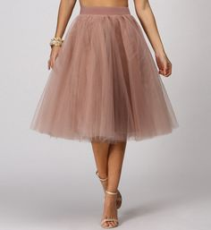 Natural Tulle Darling Party Skirt, tons of colors tons of possibilities